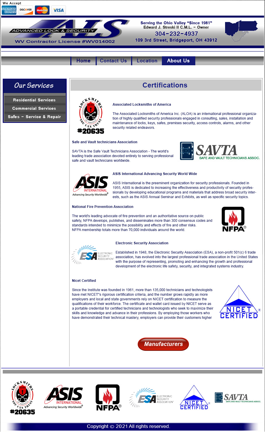 Advanced Lock Security Certifications